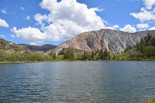Nature, Lake, Sky, Cloud, Water, Landscape, Blue