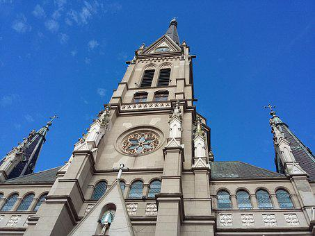 Church, Cathedral, Architecture, Historic City, Facade