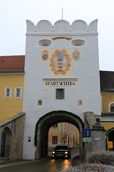 City Gate, City Wall, Historically, Old Town, Input