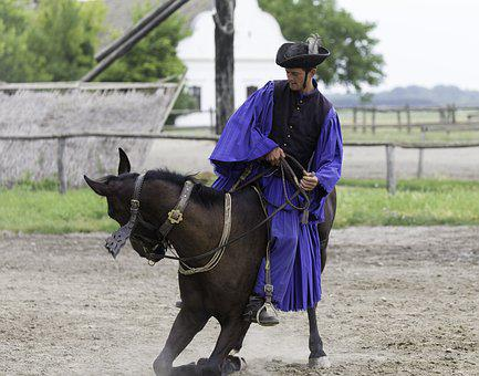 Puszta Horse Farm, Hungary, Equestrian Demonstration