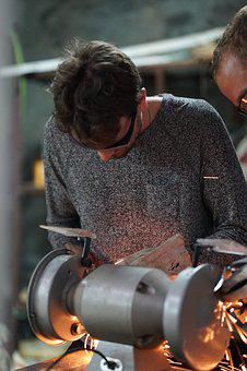 Grinding, Work, Tool, Craft, Grinding Stone, Machine
