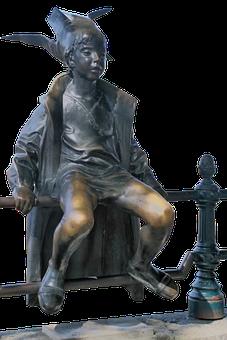 Princess, Hungary, Road, Budapest, Danube, Statue