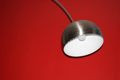 Lamp, Chrome, Modern, Interior Design, Living Room