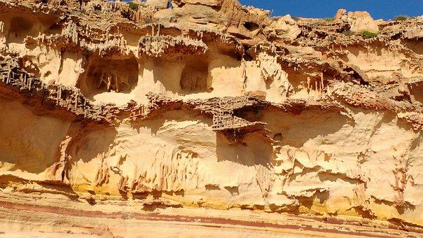 Kalbarri, National, Park, Australia, Worm, Tubes