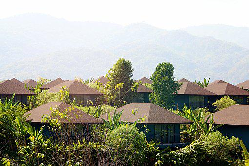 Chiang Rai, Thailand, Large, Architecture, Nature, View