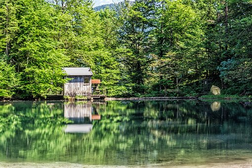 Reservoir, Mirroring, Alpine, Water, Lake, Nature