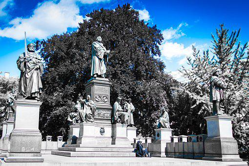 Luther Memorial, Worms, Reformation, Monument