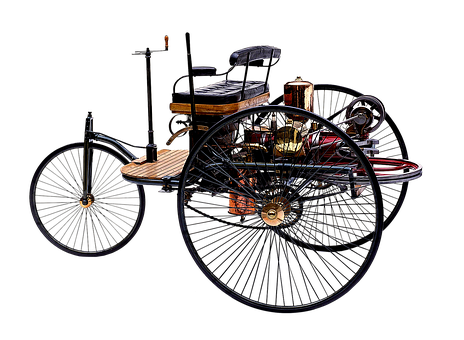 Patent Motor Car, Benz And Co In Mannheim, 1886