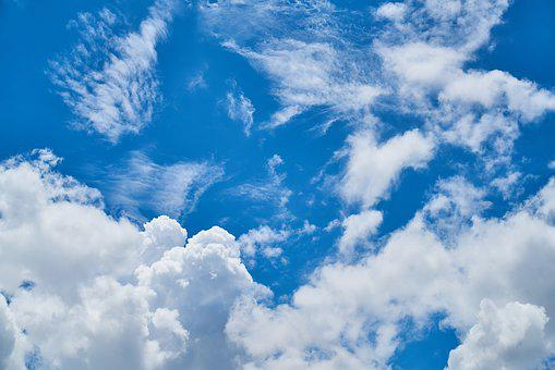 Cloud, Blue, Landscape, Clouds, White, White Clouds