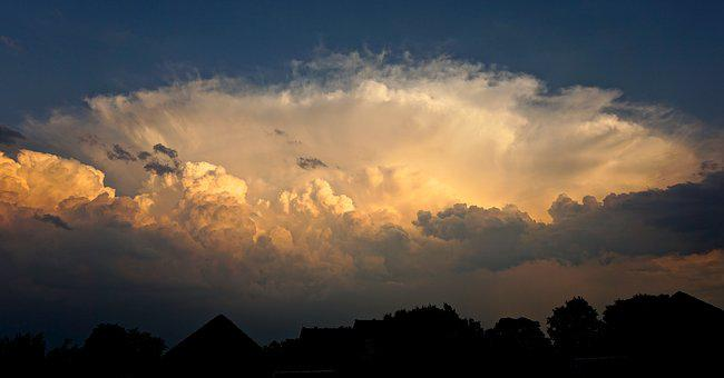 Clouds, Atmospheric, Clouded Sky, Sunset, Beautiful