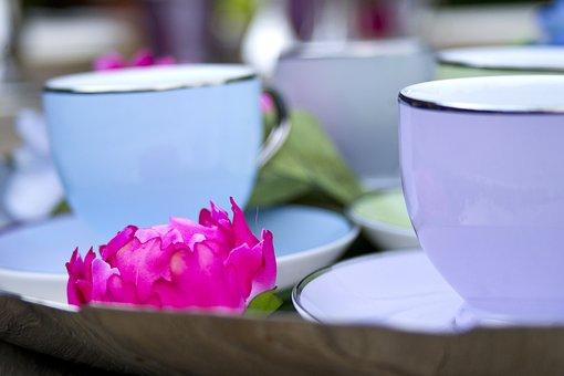 Cup, Color, Porcelain, Tea, Restaurant, Table, Coffee