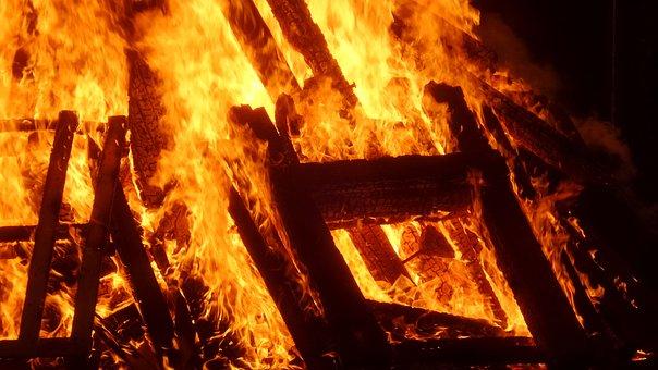 Sun Wend Fire, Fire, Flame, Summer Solstice, Midsummer