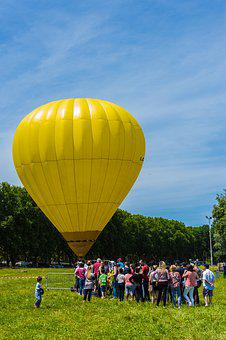 Hot-air Ballooning, Animation, Baptism, Ball, Tourists