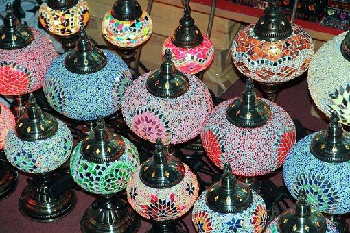 Dubai, Lamps, Souvenir, Memory