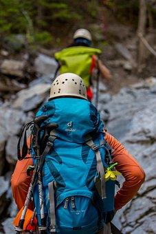 Climbing, Mountain, Helmet, Adventure, Sport, Active