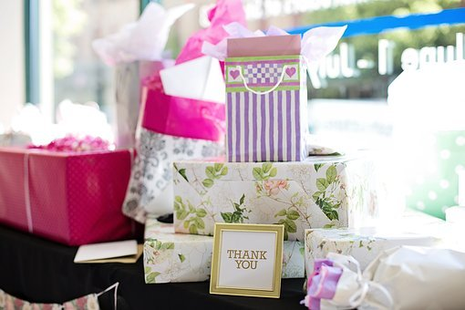 Gifts, Presents, Bridal Shower, Wedding Shower