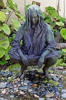 Statue, Sculpture, Fountain, Grounds For Sculpture