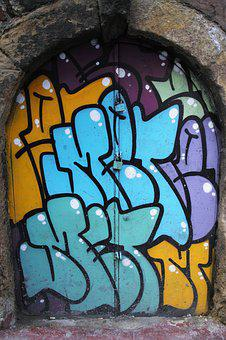 Graffiti, Pictures, Background, Wall, Paint, Art