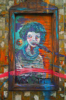 Graffiti, Paint, Pictures, Background, Wall, Art