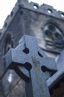 Church, Religion, Headstone, Cross, Worship, Symbol