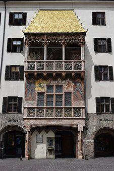 Austria, Architecture, Buildings, Roof Gold