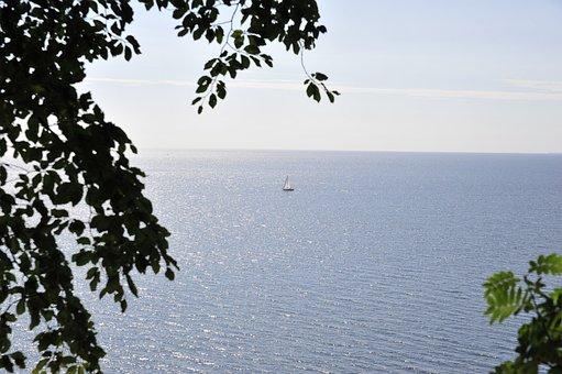 Sea, Wide, Outlook, Coast, Infinity, Horizon, Vision