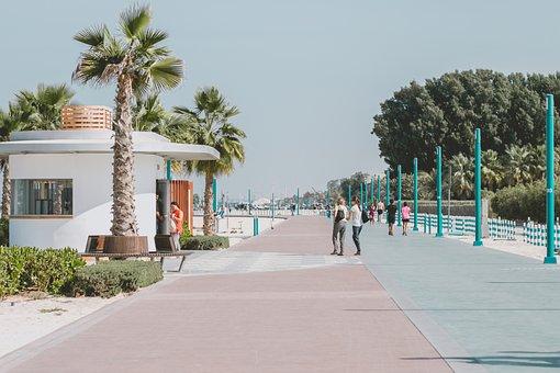 Beach, Sea, Travel, Road, Journey, Tropical, Sand