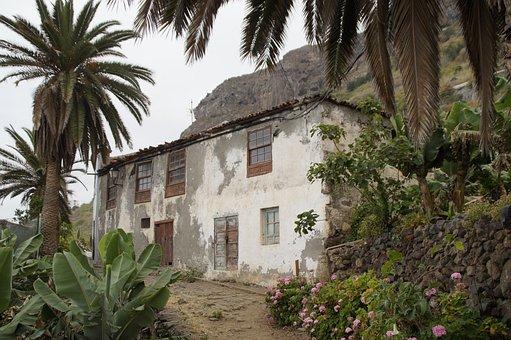 Tenerife, Landscape, Home, Building, Rural