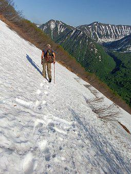Mountains, Ridge, Climbing, Open Space, Highlands