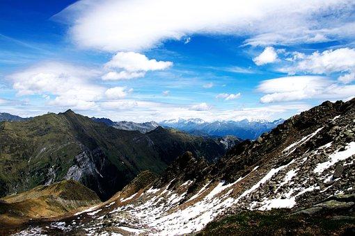Mountains, Snow, Alpine, Landscape, Allgäu, South Tyrol