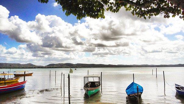 Boats, Tide, Water, Landscape, Porto, Beach, Vessel