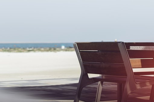 Bench, Sea View, Sea, Place, Urban, Relax, Lifestyle