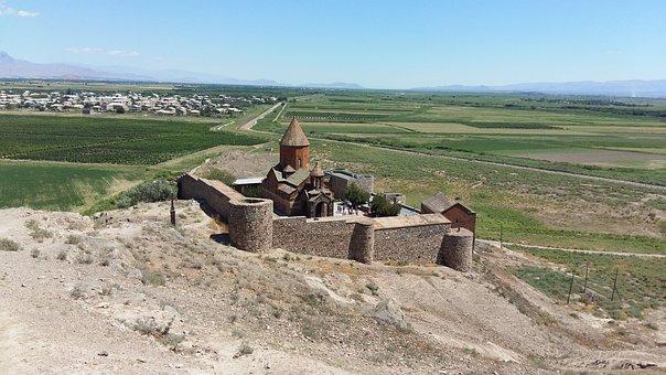 Armenia, Church, Border, Turkey, Ararat, Christianity