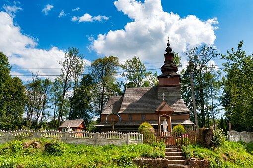 Orthodox, Church, Ukraine, Carpathian Mountains