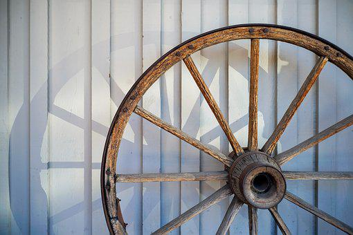 Jackson Town, Wagon Wheel, Light And Shadow