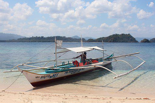 Boot, Sea, Wooden Boat, Water, Ship, Clear, Ocean