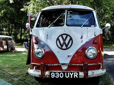 Vwbus, Vw, Bus, Hippie, Vw Bus, 1967, Camper