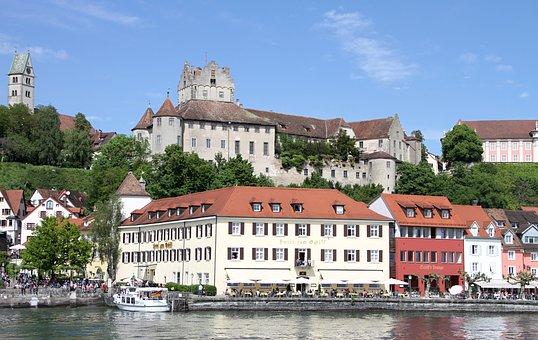 Meersburg, Castle, Winery, Building, Architecture