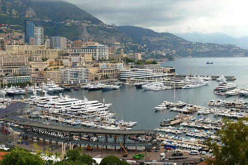 Monte Carlo, Côte D ' Azur, Port, South Of France