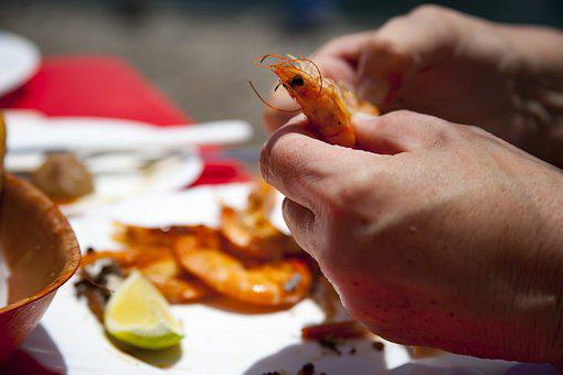 Eat, Shrimp, Delicacy, Food, Crabs, Mediterranean