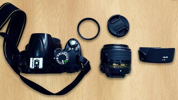 Camera, Dslr, Photography, Digital, Photo, Lens