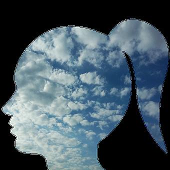Head, Woman, Person, People, Face, Profile, Solitude