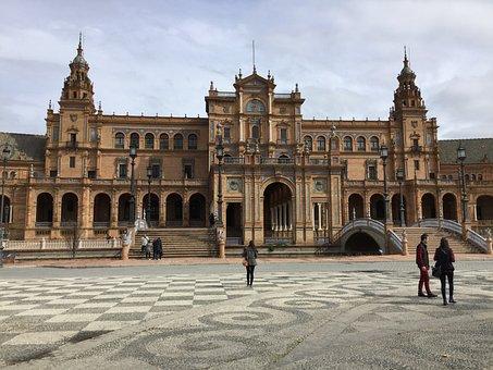 Seville, Plaza De Espana, Journey