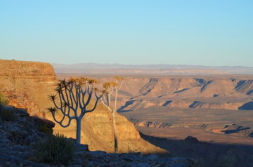 Fish River Canyon, Africa, Namibia, Landscape, Gorge