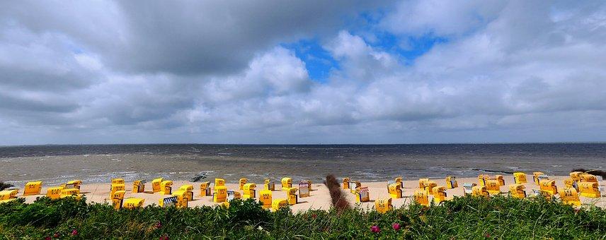 Beach, Most Beach, North Sea, Holiday, Sea, Water