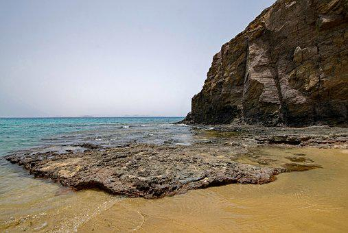 Playa Mujeres, Lanzarote, Canary Islands, Spain, Africa