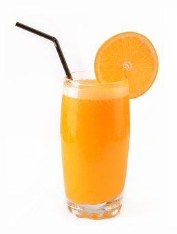 Orange, Juice, Drink, Sweet, Summer