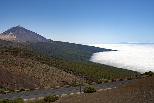 Tenerife, Canary Islands, Teide, Landscape, Outlook