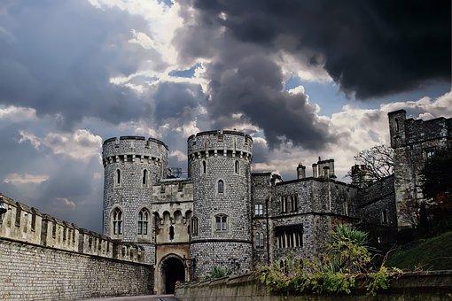 Castle, Building, Architecture, Medieval, Tower