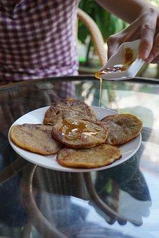 Pancake, Ginger, Sugar, Brown Sugar, Eierlos, Vegan
